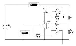 Схема измерения тока
